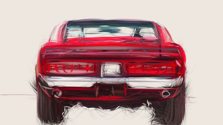1969 Shelby GT500 ID 734 - CarsToon