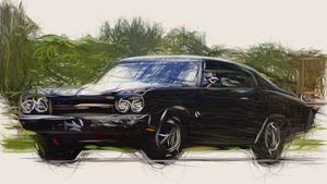 1970 Chevrolet Chevelle SS Coupe ID