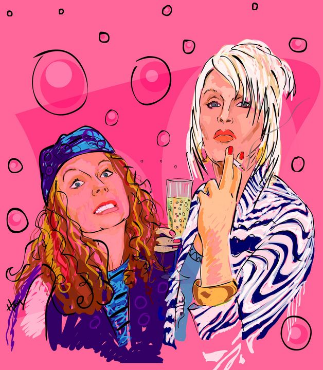 Absolutely Fabulous Fanatic - Cartoonqueen