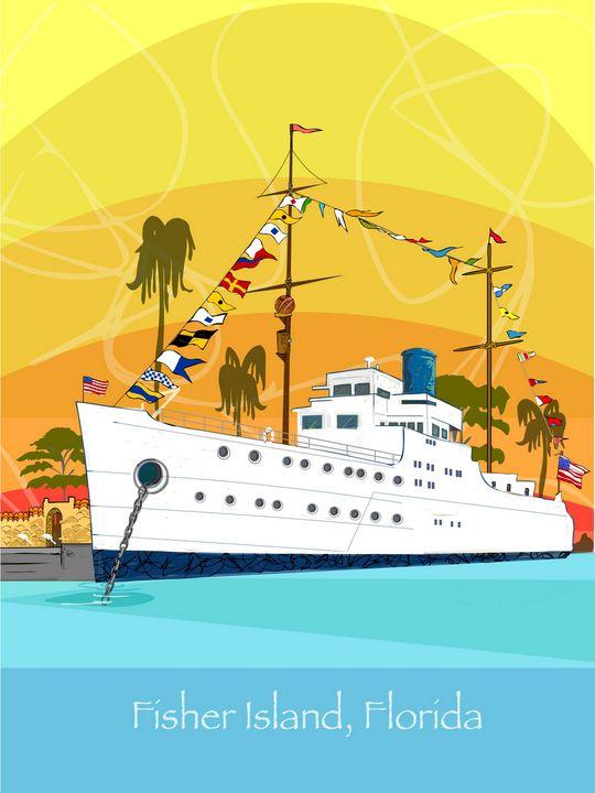 Alva Base | The Vanderbilt Yacht - Cartoonqueen