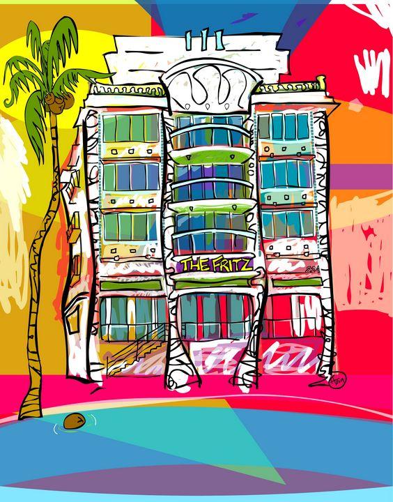 The Fritz Hotel - Cartoonqueen