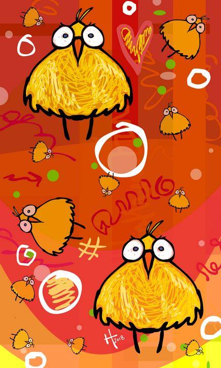Birds 2 by 2 - Cartoonqueen
