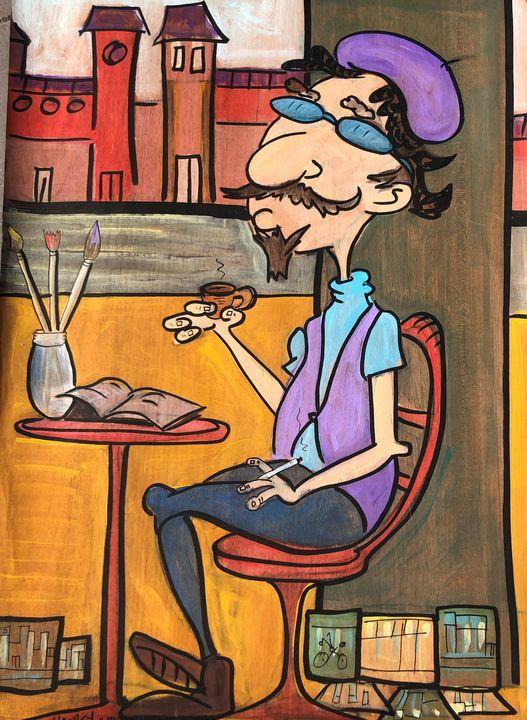 Parisian Artist - Cartoonqueen