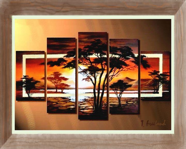 Kenya Sunrise - Petra Studios