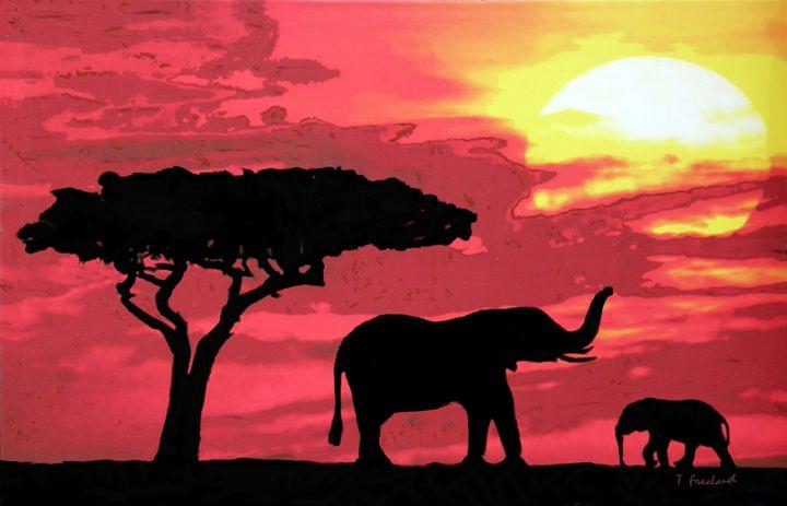 Kenya Dawn - Petra Studios