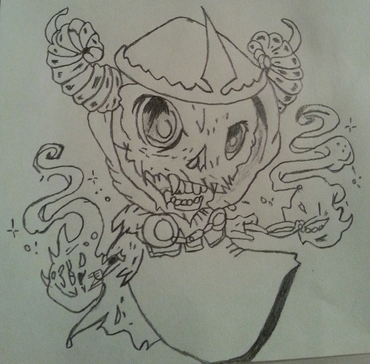 skeleton - Nina's drawings