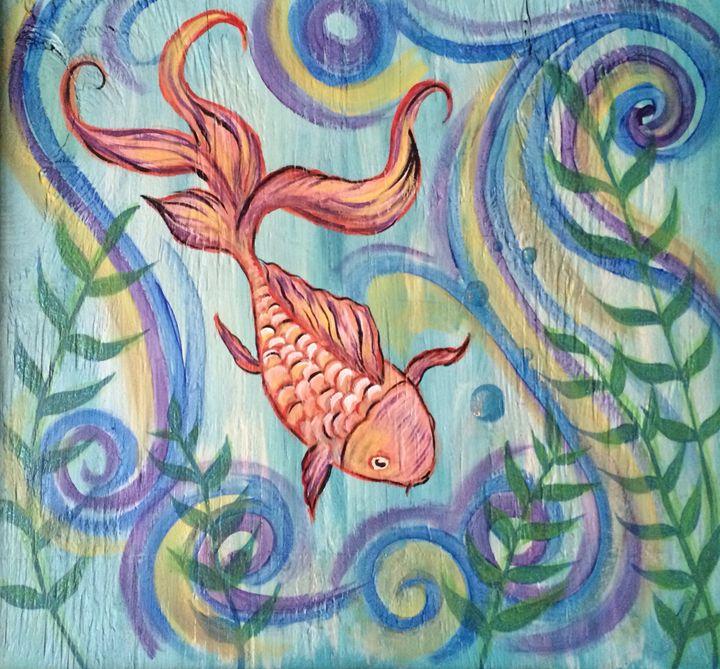 Goldfish - Art by Maricruz
