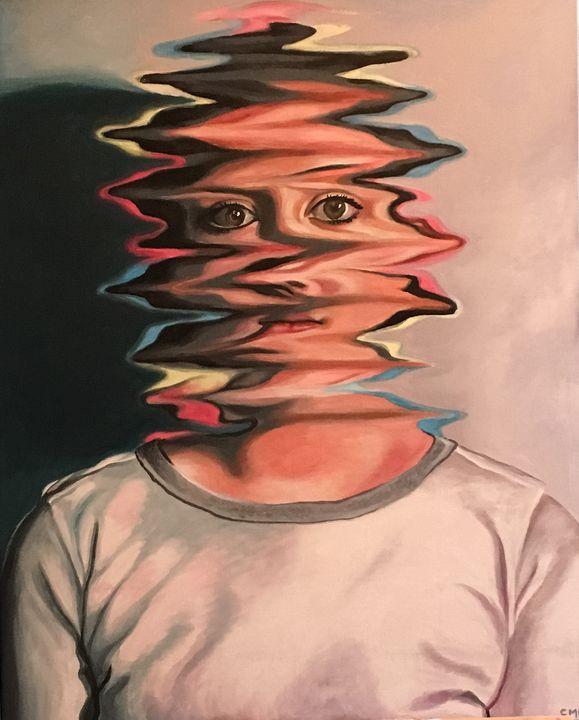 Distorted - S Evans Art
