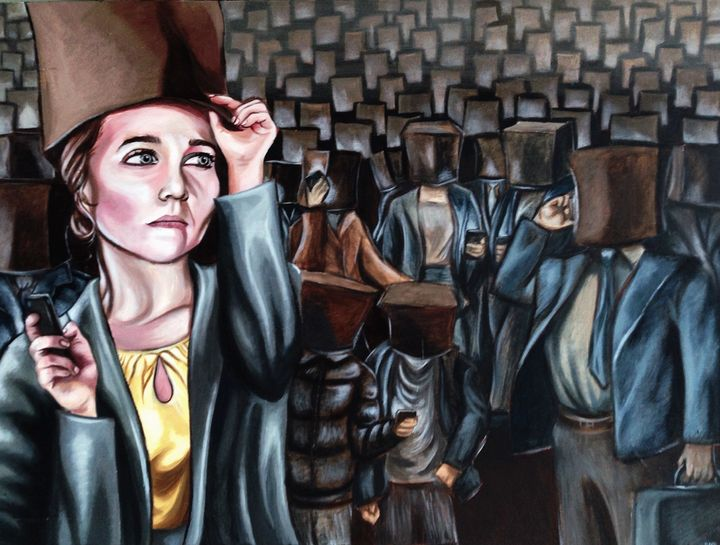 Slaves to Technology - S Evans Art