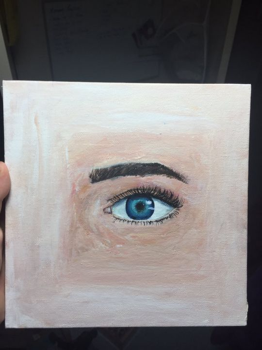 Square eye - JennsArts