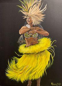 Tehiti dancer