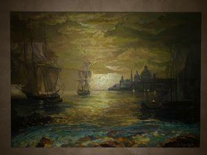 Painting, Venice Sunset Renaissance