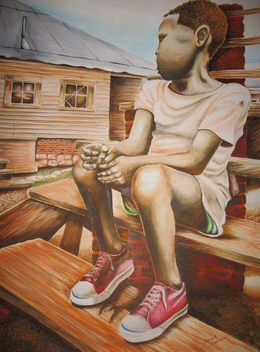 Humble Beginnings - Art Impressions by Daryl Fletcher