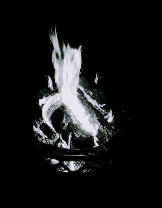 Firepit - Anita Snoody Art