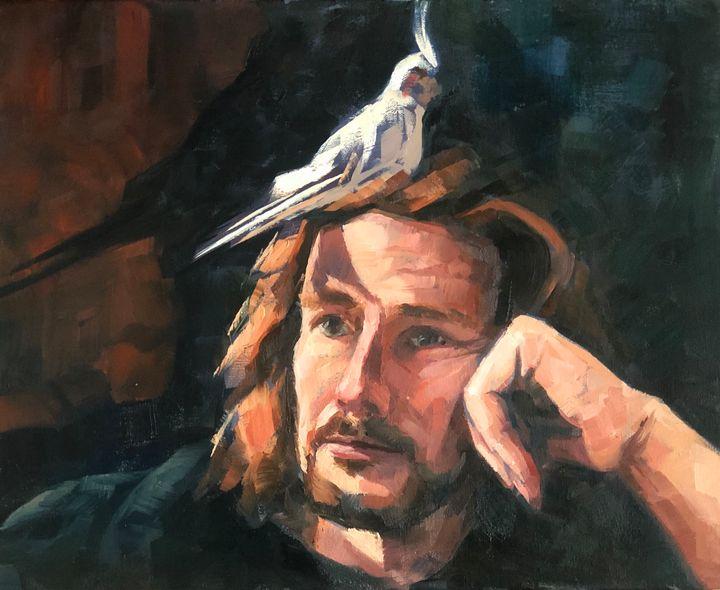 Birdman - Nevine Fathy Art