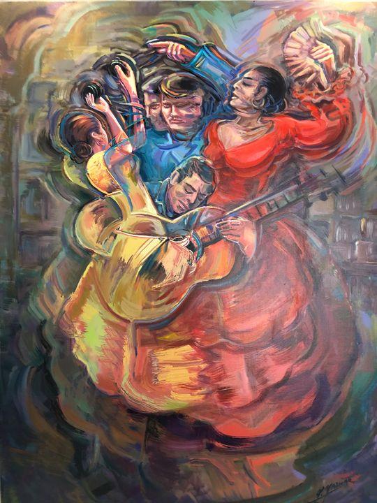 flamenco dance - Unique. Chic. Antique