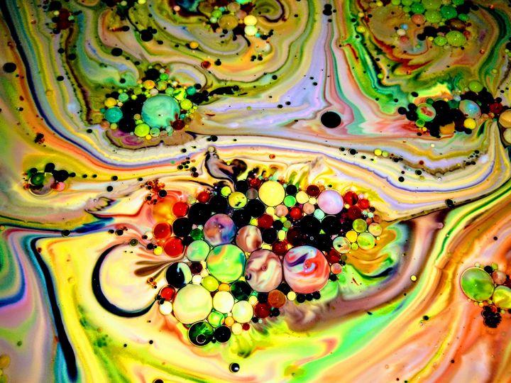 Colorful Bubbles - Marcia Grubb