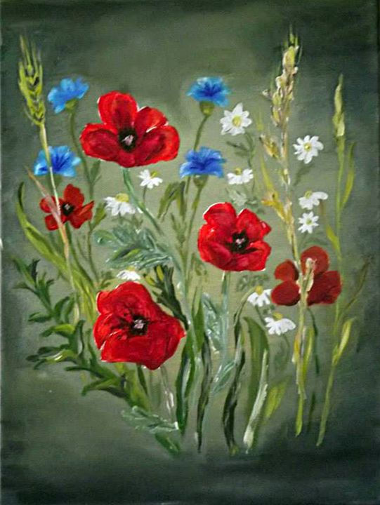 Poppies - Krasimira Staleva