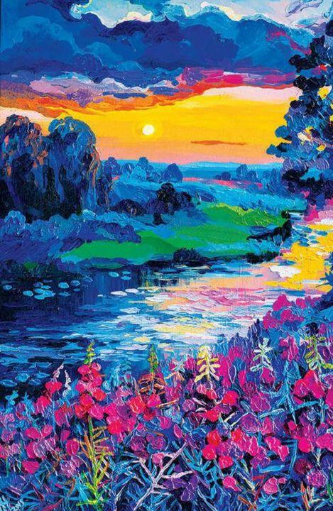 Sun set - Life On Canvas