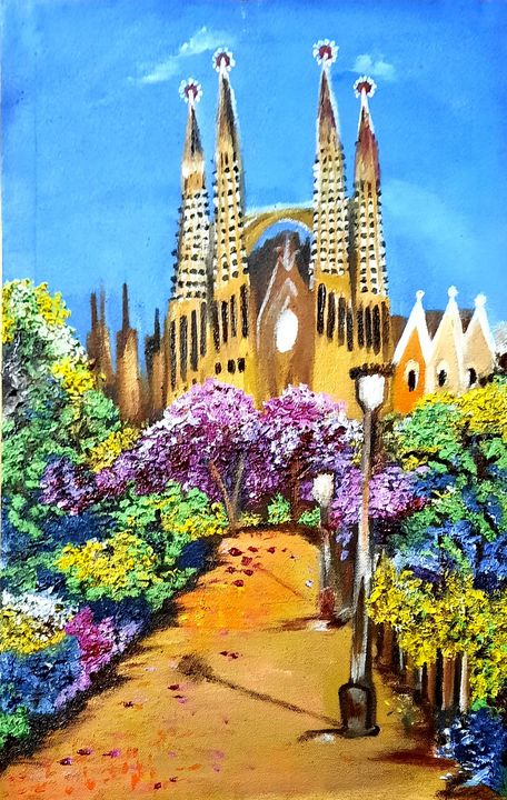 La Sagrada Familia - Life On Canvas