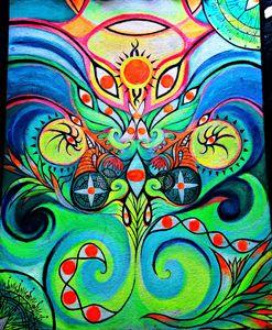 """The spiral dance"" - Alkahinax"
