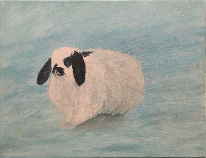Bunny - acrylic_art_by_ray_perez