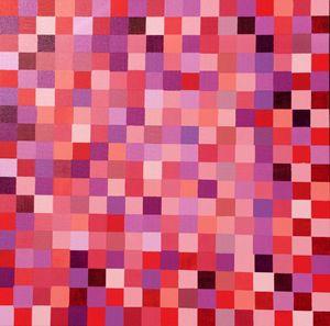 Cubic Shake (Acrylic Painting 36x36)