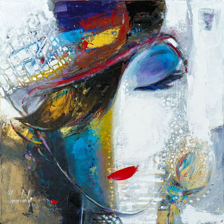 Faces - Abbas Al Mosawi Art