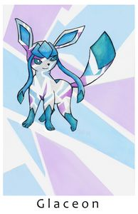 Glaceon Print