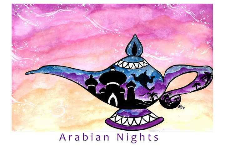 Arabian Nights - Happy Accidents Art