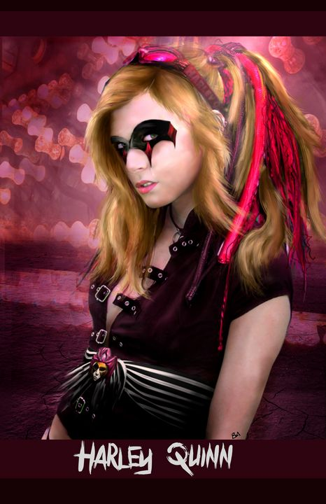 Harley Quinn - Happy Accidents Art