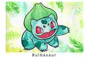 Bulbasaur Print