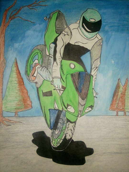 Bike love - Raghav artist