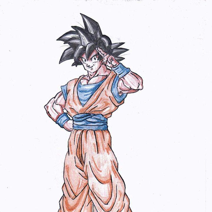 Son Goku (Dragon Ball Z) - MrBanoffeeCrunch