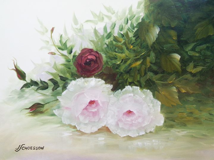 Pink & Red Roses - Richard & Joan schoessow