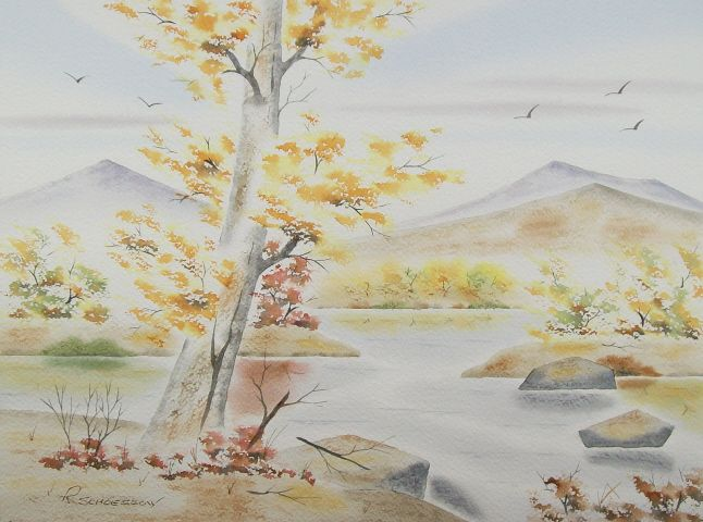 Hint of Fall - Richard & Joan schoessow