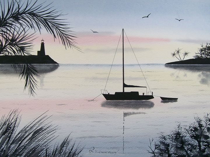 Sunset Anchorage IV - Richard & Joan schoessow