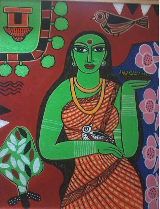 Rural Woman. - ArtForYou