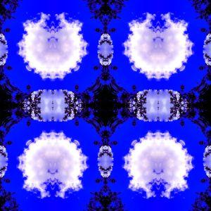 DigitalArtWork WhiteClouds BlueSky