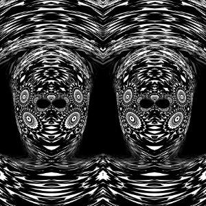 Digital ArtWork:Mystic Figures.