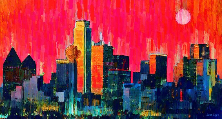 Dallas Skyline 71 - Leonardo Digenio