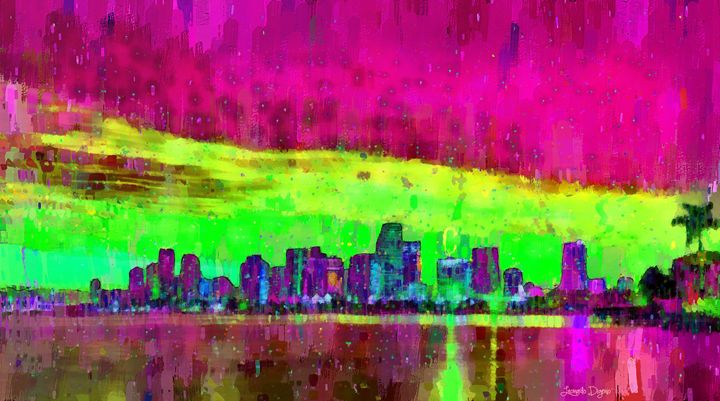 Miami Skyline 105 - Leonardo Digenio