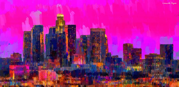 Los Angeles Skyline 110 - Leonardo Digenio
