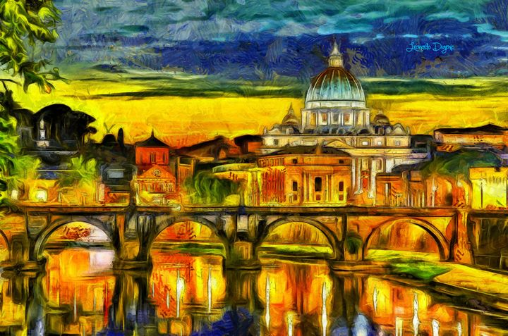 Bridge Of Angels Evening - Leonardo Digenio