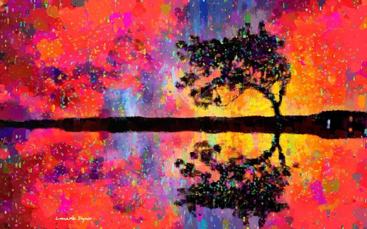 Tree Reflection - Leonardo Digenio