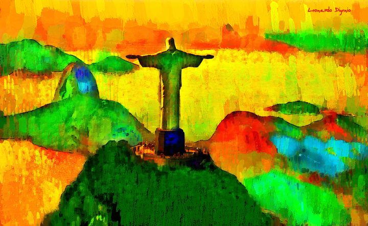 Christ The Redeemer In Rio 2 - Leonardo Digenio