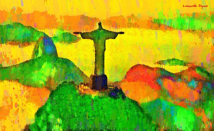 Christ The Redeemer In Rio 5 - Leonardo Digenio