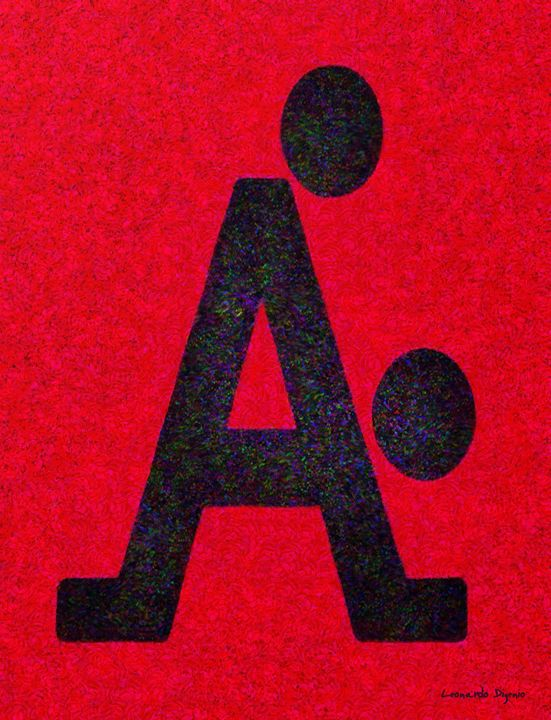 The A With Style Red - Leonardo Digenio