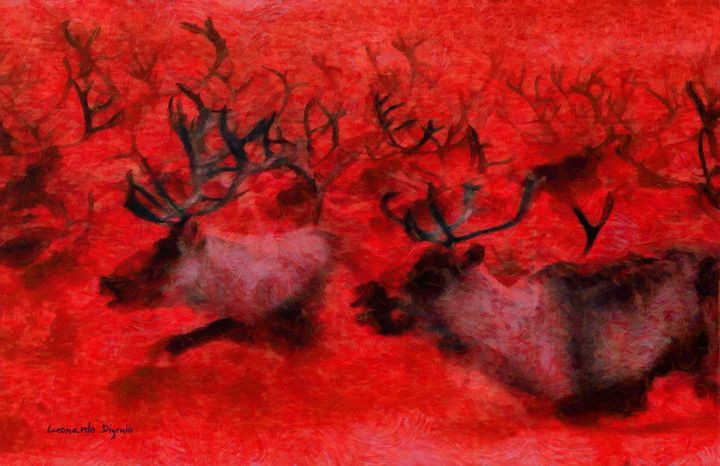 Running Deers Red - Leonardo Digenio