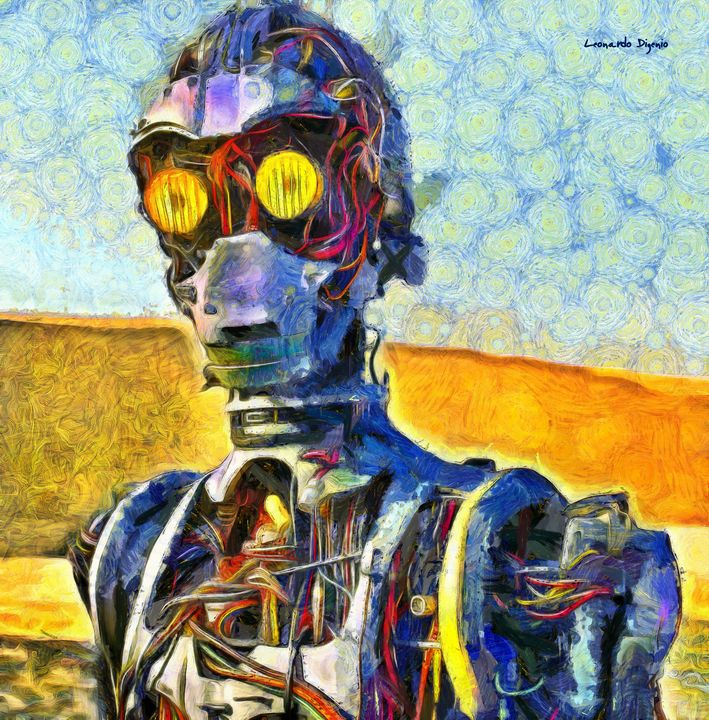 Star Wars C3po Naked - Leonardo Digenio